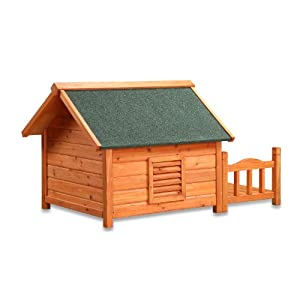 Pet Squeak Porch Pups Dog House, Medium