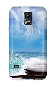 QvICkHI6616APfzu DPatrick Awesome Case Cover Compatible With Galaxy S5 - Sea Dreamy World