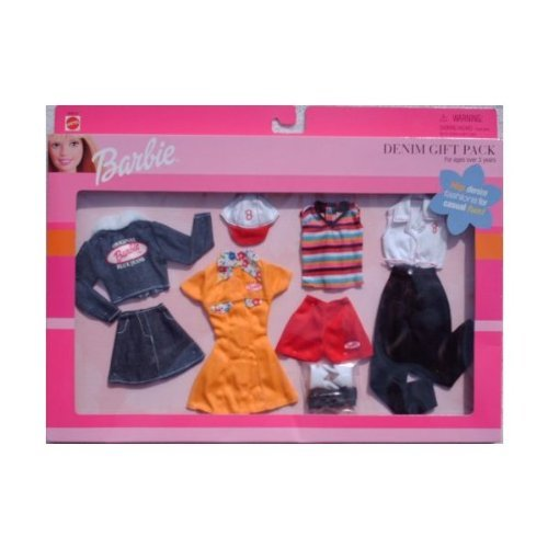 (Barbie Denim 4 Outfit Gift Pack (1999))