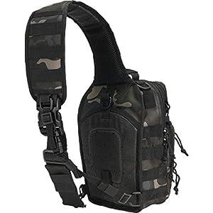 Brandit Messenger Bag US Cooper Every Day Carry Sling, Color:darkcamo