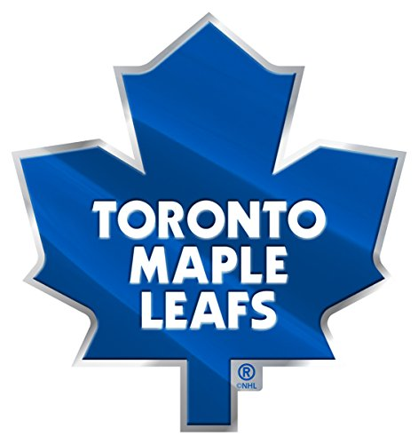 (NHL Toronto Maple Leafs Color Auto Emblem, One Size, One Color)