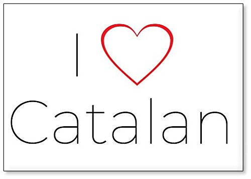 Mundus Souvenirs - Amo Catalan, Imán para Nevera (diseño 1 ...