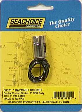 Bayonet Socket Brass 4