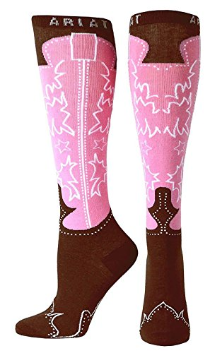 Ariat Womens Bottes De Bottes Western Marron / Rose