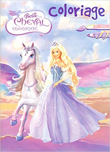 Coloriage Barbie Et Cheval Mag French Edition Collectif 9782800690483 Amazon Com Books