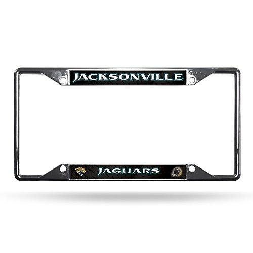 Rico NFL Jacksonville Jaguars Chrome Plate Frame, 12