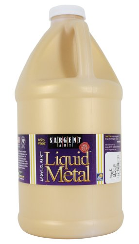 Sargent Art 22-2781 1/2-Gallon Standard Colors Acrylic Paint