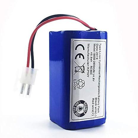 Migvela 14.8 V 2800 Mah Robot Aspirador Reemplazo de batería para ...