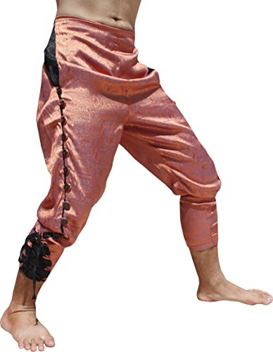 Thailand Costumes For Male And Female - Svenine French Button Leg Calf Tied