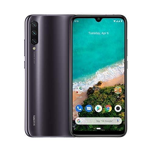 chollos oferta descuentos barato Xiaomi Mi A3 Smartphone 6 09 AMOLED Dot Drop 4GB RAM 128GB Cámara principal de 48MP 4G dual SIM color Gris