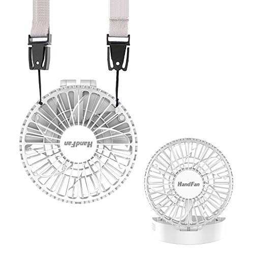 HandFan Personal Necklace Hands Free Rechargeable