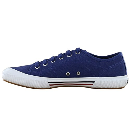 Fred Perry Vintage Tennis Canvas Navy Mens Trainers