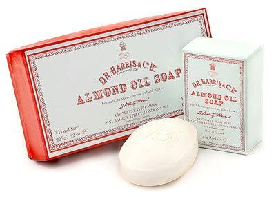 D R Harris Almond Oil Soap - Made in England by D.R. Harris