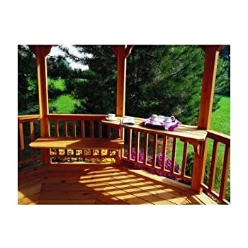 Excellent Amazon Com Handy Home Products Gazebo Bench Table Kit Ibusinesslaw Wood Chair Design Ideas Ibusinesslaworg