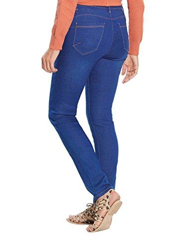 Balsamik - Vaqueros slim push-up, estatura + 1,69 m - Mujer Azul sobreteñido