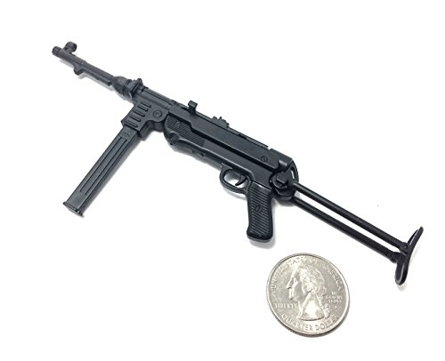 1/6 Scale MP40 Submachine Gun Nazi Germany WWII Miniature Toy Guns Model Fit For 12