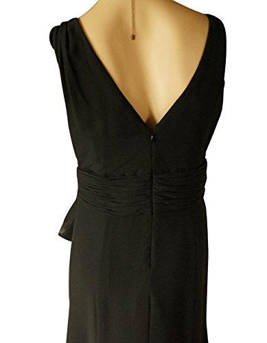 Abendkleid Brooke Größe oder 36 38 Schwarz Event Ashley qAwnWF8gg
