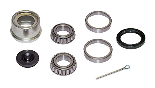 (Rigid Hitch Trailer Bearing Repair Kit (280454-EZ) For 1-1/16 Inch Straight Spindle - Includes E-Z Lube Cap With Plug)