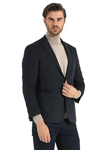 Saykı Grey Slim Fit Birdseye (Birdseye Sport Coat)