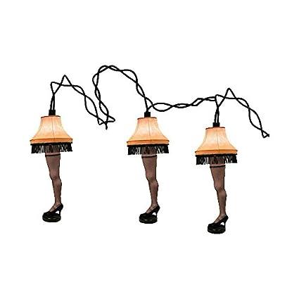Amazon.com: A Christmas Story Leg Lamp Party Light Strand: Home ...