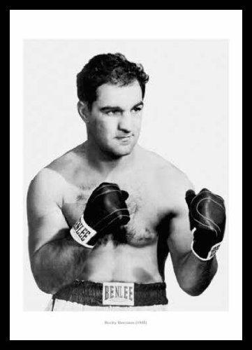 Framed Rocky Marciano 1955 Boxing Photo Memorabilia: Amazon.co.uk ...