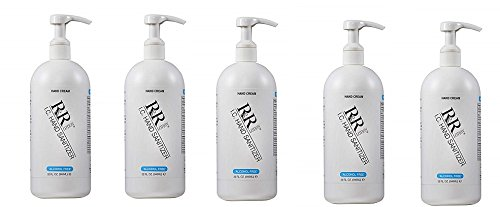 ''Alcohol Free'' Hand Sanitizing Lotion kills 99% of Germs up to 4 Hours, 32oz. (5-Pack)