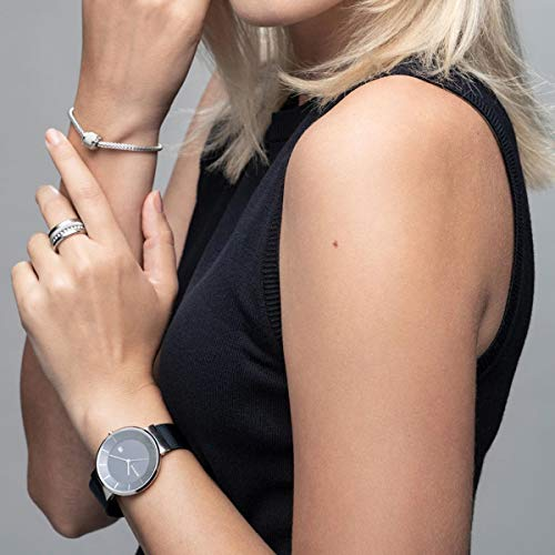 BERING Time 14639-307 Solar Collection Slim Watch with Mesh Strap and Scratch Resistant Sapphire Crystal. Designed in Denmark