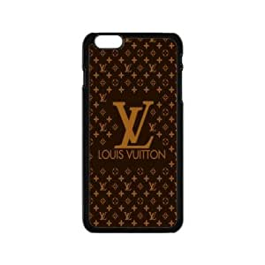 "JS-04 LOUIS VUITTON With Hard Shell Case for iPhone 6 Plus 5.5""-Black"