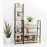 C-Hopetree Ladder Bookshelf - 3 Tier Bookcase