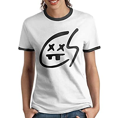 Kangtians Women's Chainsmokers Short Shirts Tee