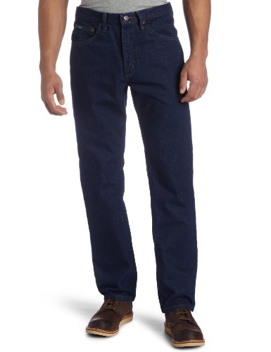 Lee Men's Big-Tall Regular Fit Straight Leg Jean, Pepper Prewash,  46W x 32L