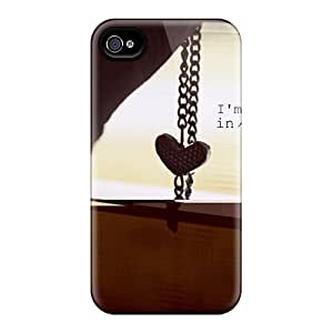 Excellent Iphone 4/4s Case Tpu Cover Back Skin Protector I'm Not Leaving In Reality Anymore