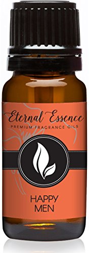 Eternal Essence Oils Happy Men Grade Fragrance Oil - 10ml - Scented (Essential Oils Cologne)