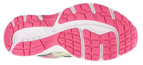 Asics Kids Gel-kampen 4 Gs Loopschoen Mid Grijs / Schijnwerpers / Hot Pink