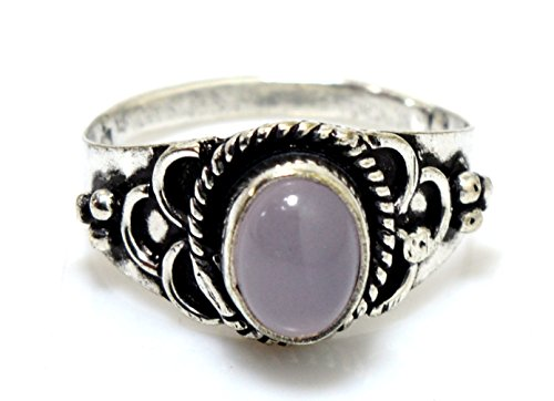 kala-jewels-sterling-silver-plated-natural-plain-rose-quartz-gemstone-jewelry-ring-size-75-us