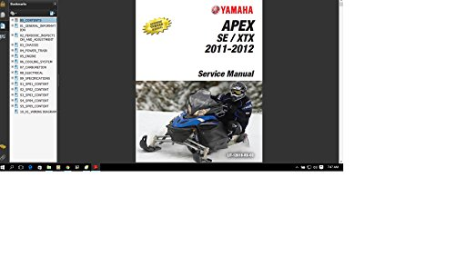 Yamaha Apex Snowmobile 2011 2012 Service Manual Library