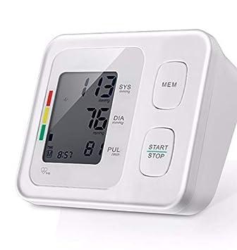WShijie Tensiómetro Digital automático para la medición precisa del esfigmomanómetro del Brazo Superior,White: Amazon.es: Deportes y aire libre