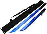 """Defender Xtreme 26"""" / 18"""" Stainless Steel Blue Blade Sword w"""