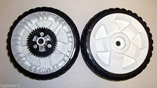 Lawn Mower 8' Wheel ([TOR] [115-4695] SET OF 2 Toro 22`` Recycler Lawnmower 8`` Gear Wheels /supplylcpower1)