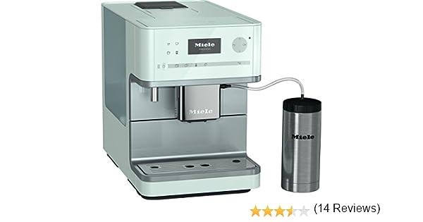 Miele 10516190 cm 6350 BB cafetera eléctrica potable color blanco brillante: Amazon.es: Hogar