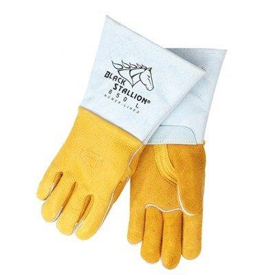 Revco Industries - Black Stallion Premium Grain Elkskin Welding Gloves - X-Large - Welding Safety Gloves - .com [5Bkhe0107519]