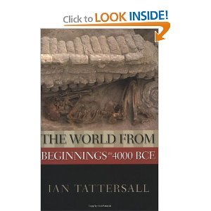 Download The World from Beginnings to 4000 BCE byTattersall pdf epub