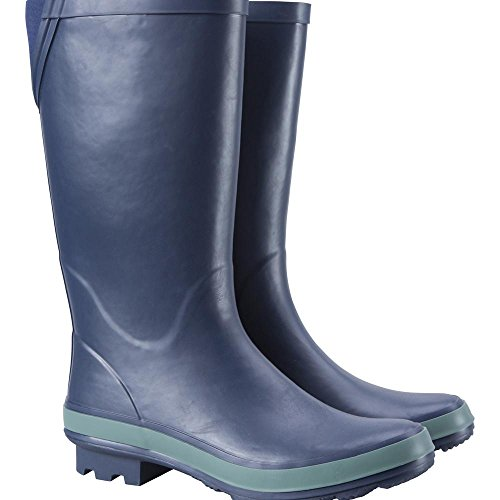 Rain Clean For amp; Soft EVA Travelling To Mountain Boots Stream Waterproof Wellies Fabric Navy Womens Wellington Footbed Lining Easy Warehouse amp; Boots Walking Boots Summer wqqBRYx7