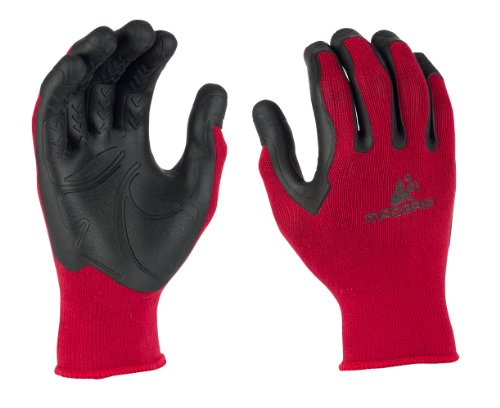 Mad Grip F50 Pro Palm Gloves, Red/Black, Large/X-Large (Gorilla Gloves)