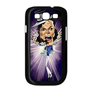 Custom Michael Jackson Back Cover Case for SamSung Galaxy S3 I9300 JNS3-051