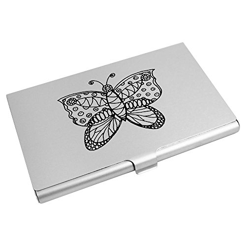 Business Card Wallet CH00001283 Butterfly' Holder Azeeda 'Patterned Card Credit zqBEEOw