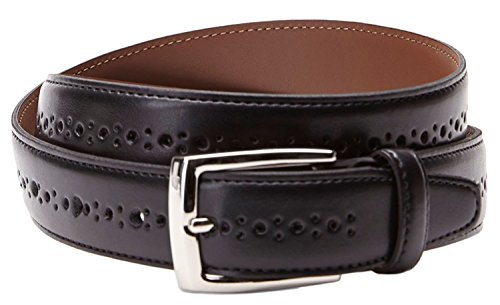 bosca-b03743-04-mens-black-perforated-leather-belt-size-34
