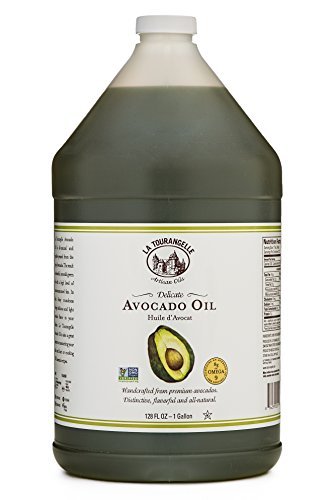 La Tourangelle Avocado Oil 128 Fl. Oz., All-Natural, Artisanal, Great for Salads, Fruit, Fish or Vegetables, Great Buttery Flavor by La Tourangelle (Image #5)