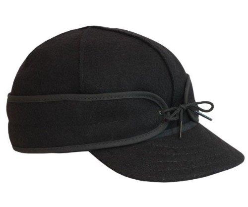 (Stormy Kromer Original Wool Cap, 7 3/4, Black)
