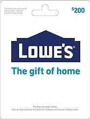 Lowe's Gift